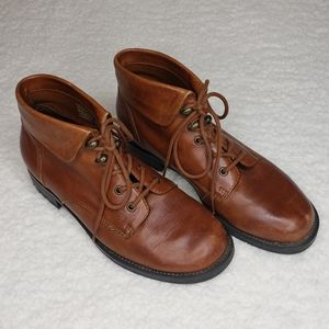 Earth Shoe Cambridge Brown Ankle Boot-Women's 8.5